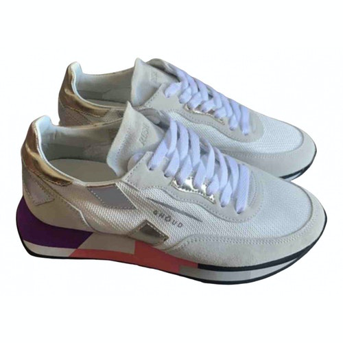 Ghoud White Cloth Trainers