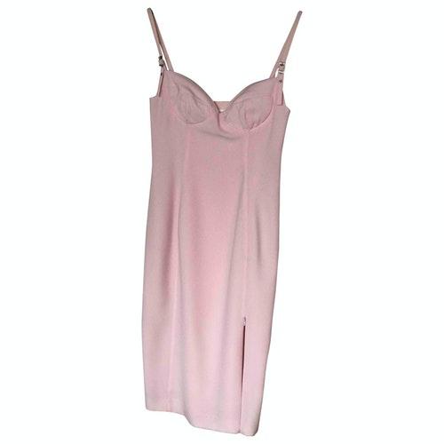 Mugler Pink Dress