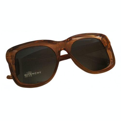 Givenchy Orange Sunglasses