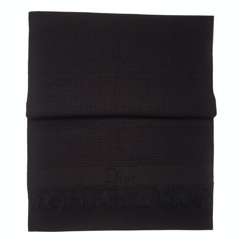 Dior Black Scarf & Pocket Squares