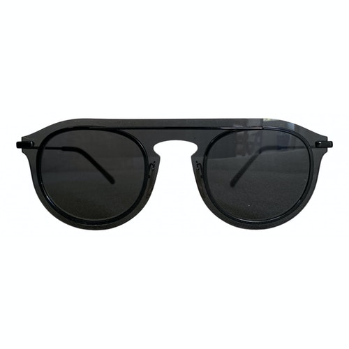 Dolce & Gabbana Black Metal Sunglasses