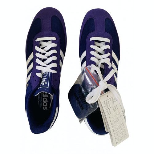 Adidas Originals Samba Purple Suede Trainers
