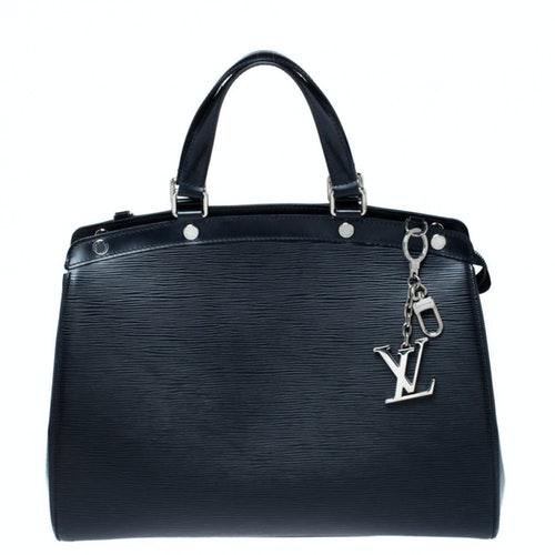 Louis Vuitton Bréa Black Leather Handbag