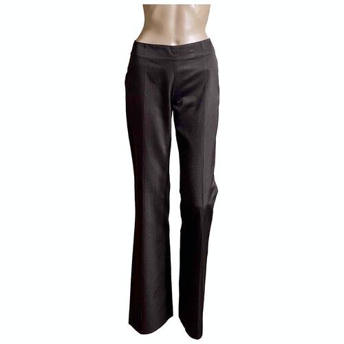 Lanvin Metallic Silk Trousers