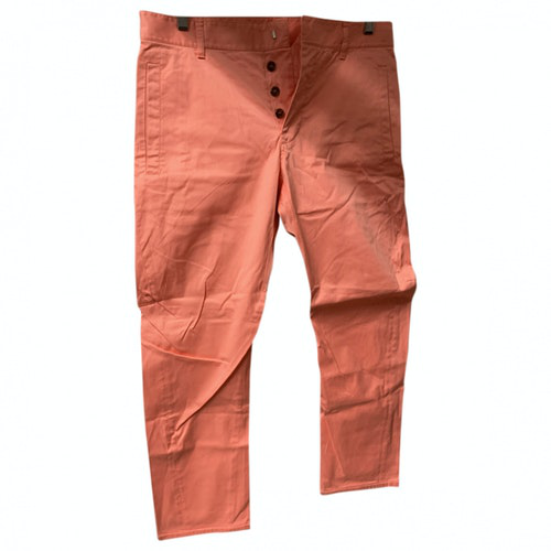 Dsquared2 Pink Cotton Trousers