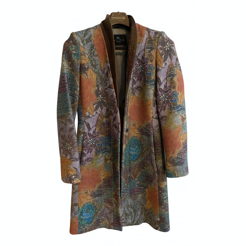 Etro Multicolour Wool Coat