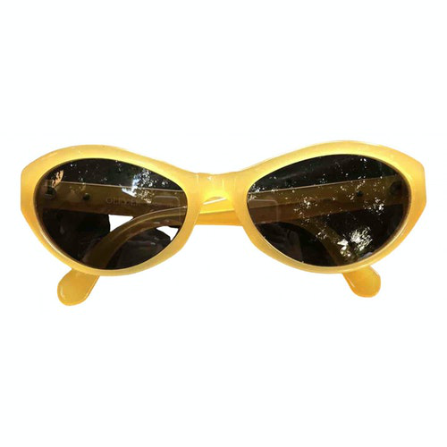Valentino Yellow Sunglasses
