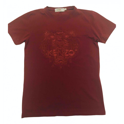 Kenzo Burgundy Cotton  Top