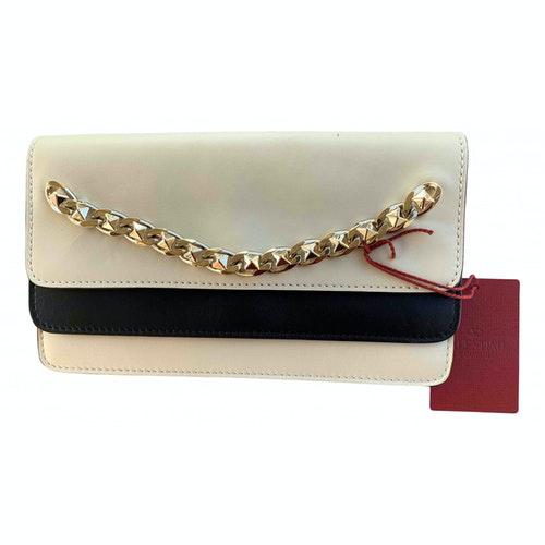 Valentino Garavani Multicolour Leather Clutch Bag