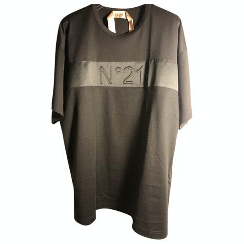 N°21 Black Cotton  Top