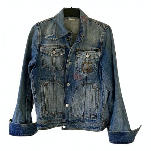 Dolce & Gabbana Blue Denim - Jeans Jacket