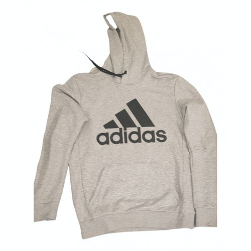 Adidas Originals Grey Cotton Knitwear & Sweatshirts