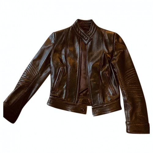 Jitrois Brown Leather Leather Jacket