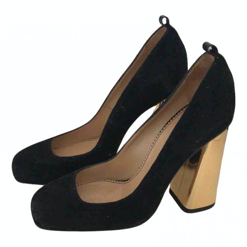 Dsquared2 Black Suede Heels