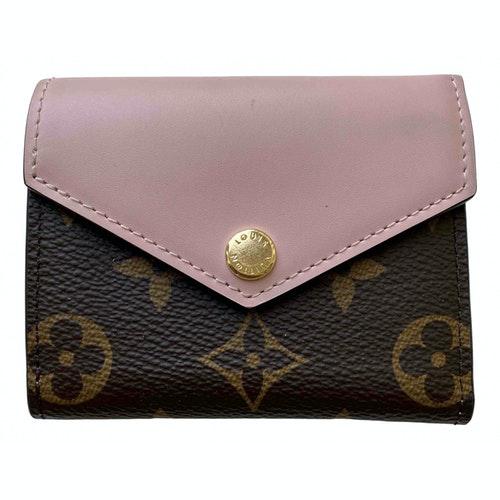 Louis Vuitton Victorine Pink Cloth Wallet