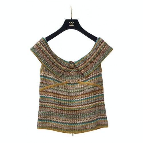 Chanel Multicolour Cotton  Top