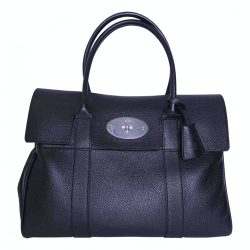 Mulberry Bayswater Black Leather Handbag