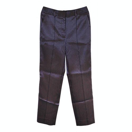 Diane Von Furstenberg Blue Trousers