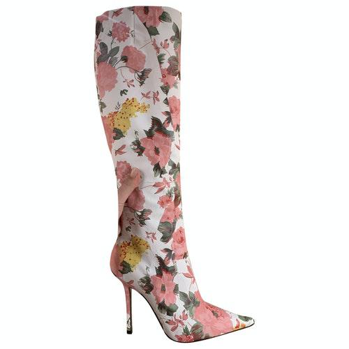 Vetements Cloth Boots