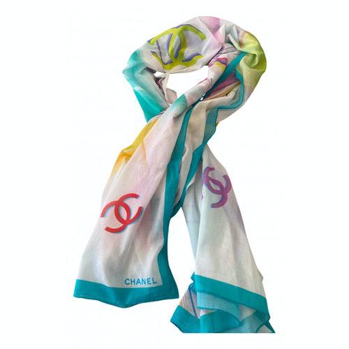 Chanel Multicolour Silk Scarf