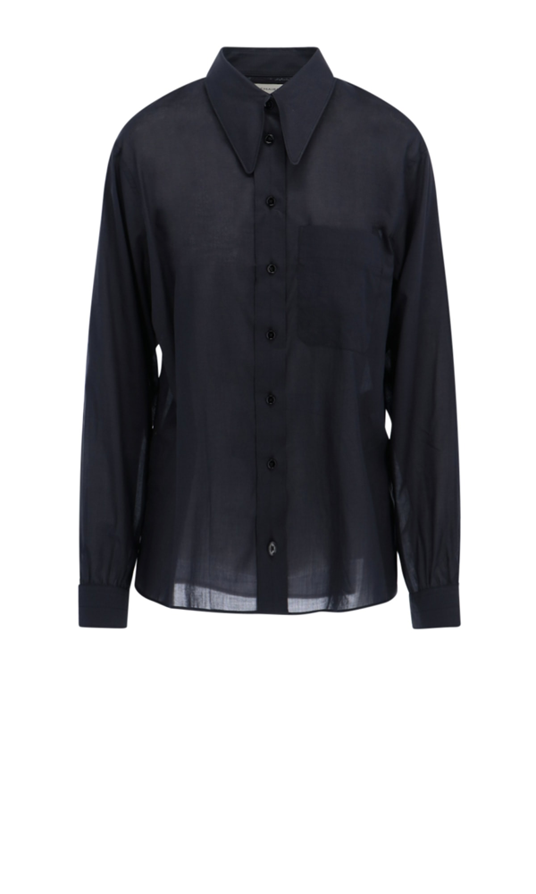 Lemaire Shirt In Black