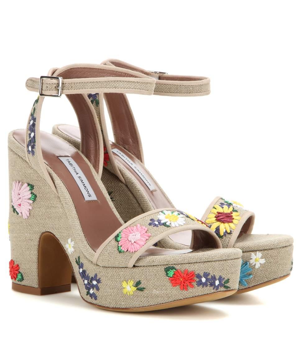 1f09a50a2968 Tabitha Simmons Calla Embroidered Platform Sandal