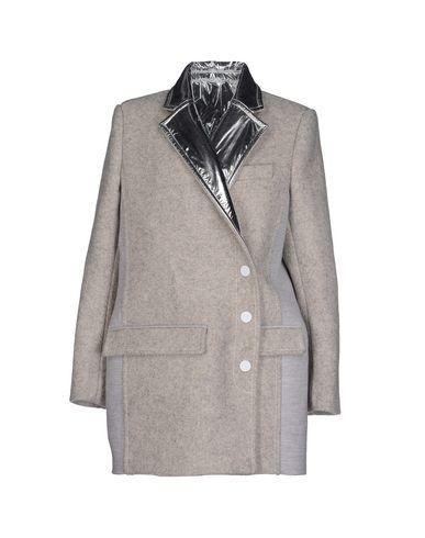 Paco Rabanne Coat In Light Grey