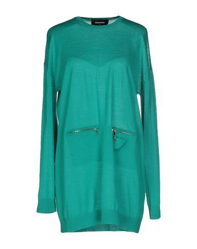 Dsquared2 Short Dress In Emerald Green