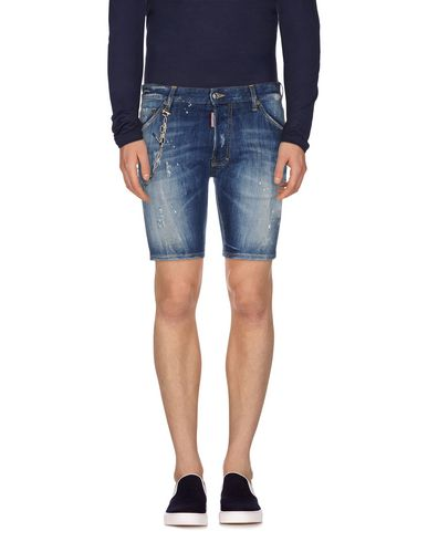 Dsquared2 Denim Shorts In Blue
