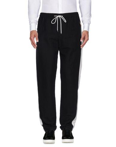 Dolce & Gabbana Pinstriped Drawstring Pants In 0400088239646