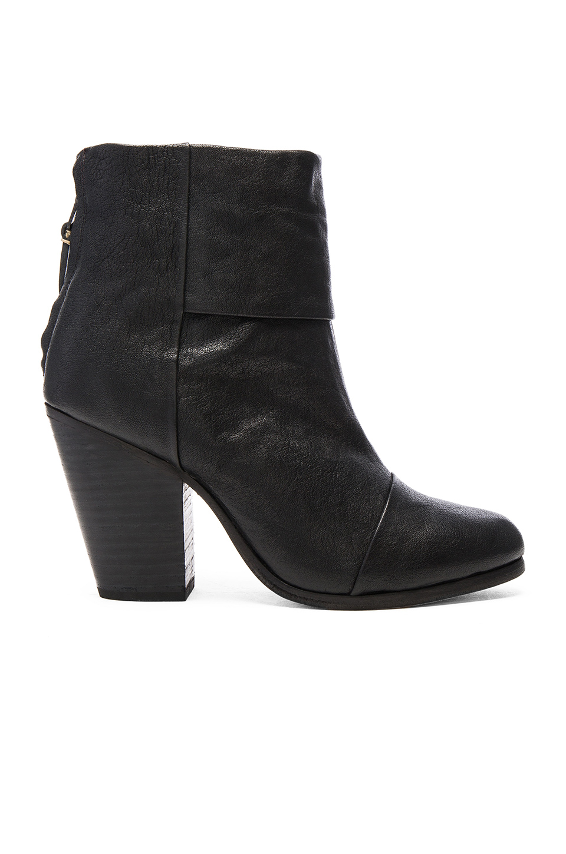Rag & Bone Newbury Boot In Black