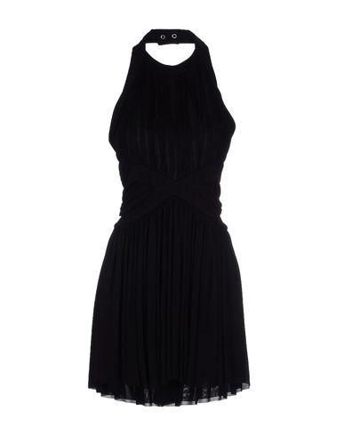 Balmain Short Dress In Black