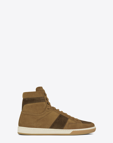 3f70b15391 SIGNATURE COURT CLASSIC SL/10H IN TAN AND BROWN SUEDE