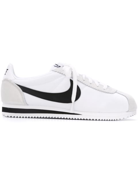 new style 6df20 8e103 Nike Men S Classic Cortez Leather Casual Sneakers From Finish Line In White