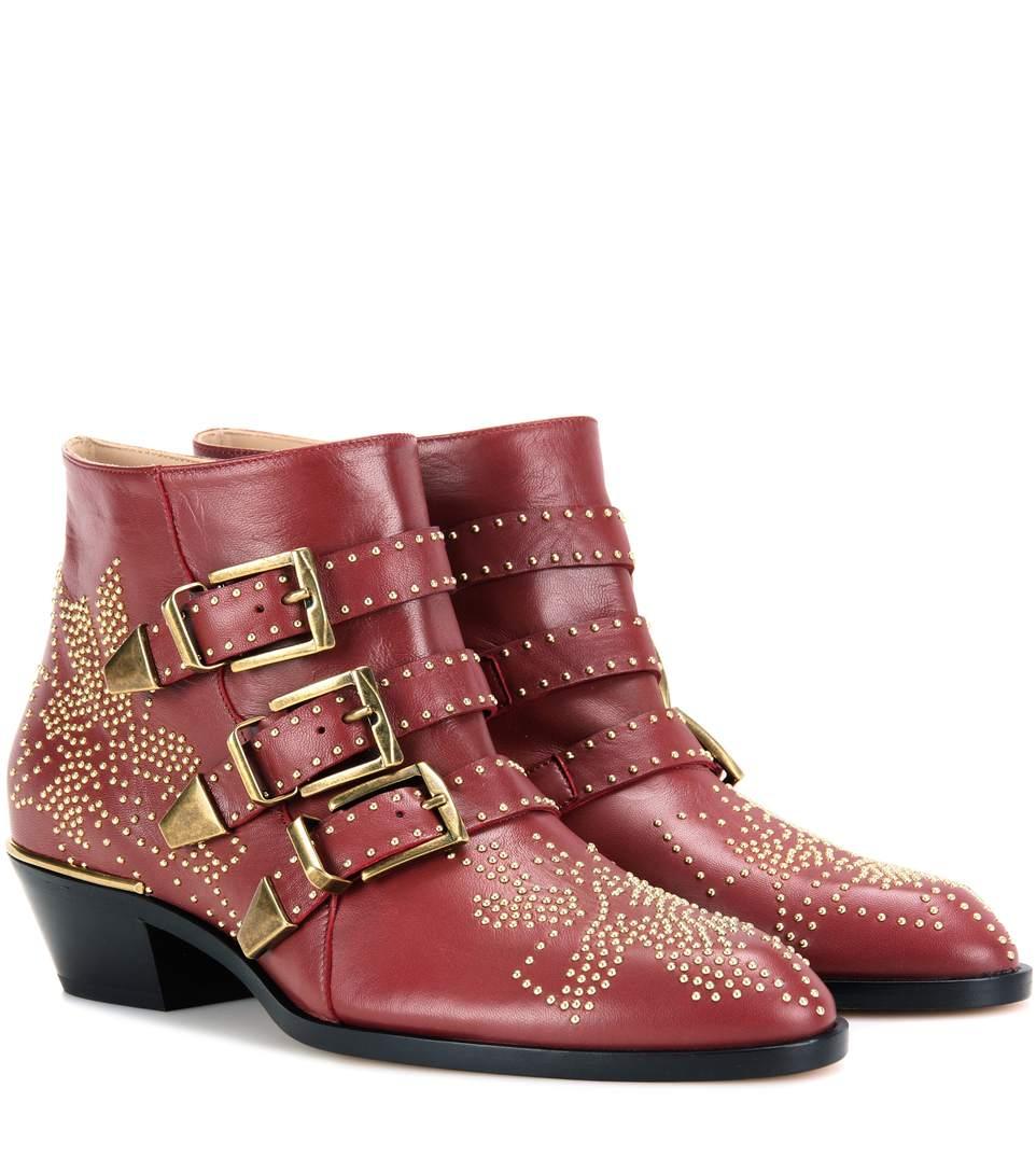 de5fe24c Susanna studded leather ankle boots