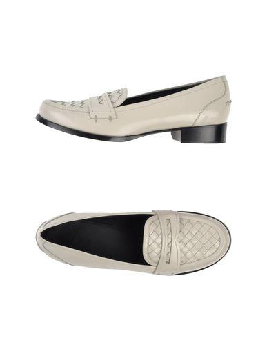 Bottega Veneta Loafers In Ivory