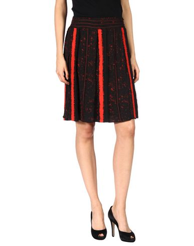 Proenza Schouler Pleated Printed Silk-georgette Skirt In Black