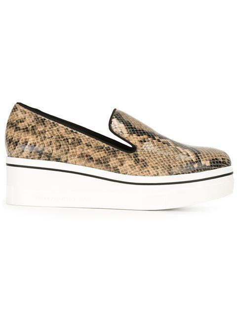 Stella Mccartney 'binx' Loafers - Neutrals
