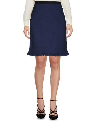 Marni Knee Length Skirts In Dark Blue