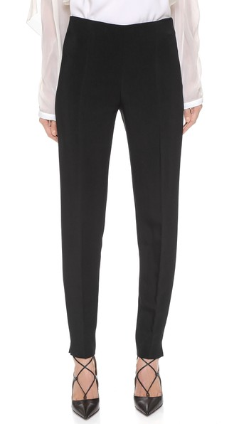 Antonio Berardi Skinny Stretch Cady Pants In Black
