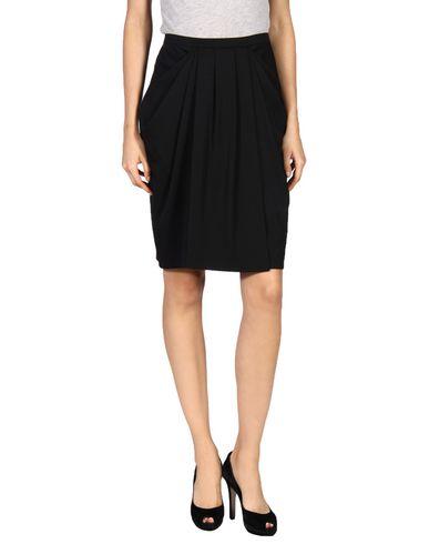 Emporio Armani Knee Length Skirt In Black