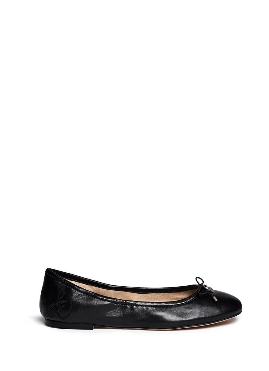 Sam Edelman 'Felicia' Leather Ballerina Flats