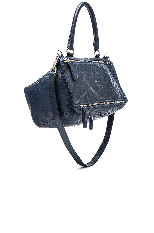 abcaa1e94ed Givenchy Pandora Medium Pepe Leather Shoulder Bag, Navy In Blue ...