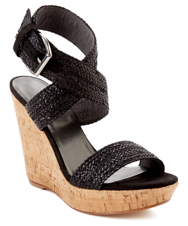 Stuart Weitzman Encore Leather Sandal In Black