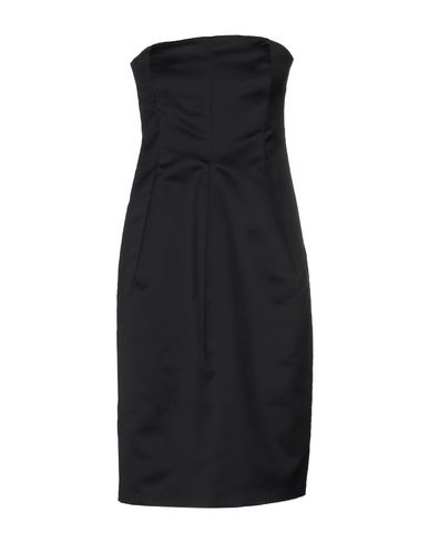 Jil Sander Short Dress In Black