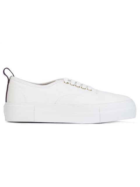 Eytys Mother Canvas Trainers In White