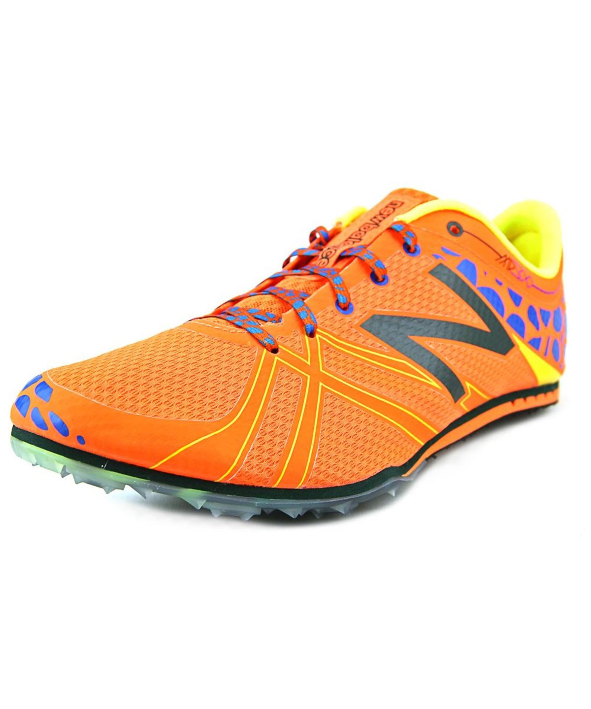 New Balance Mmd500   Round Toe Synthetic  Cleats In Orange