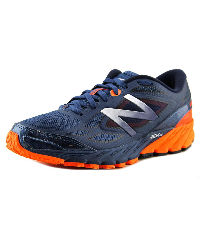 New Balance M870 Men  Round Toe Canvas Blue Running Shoe