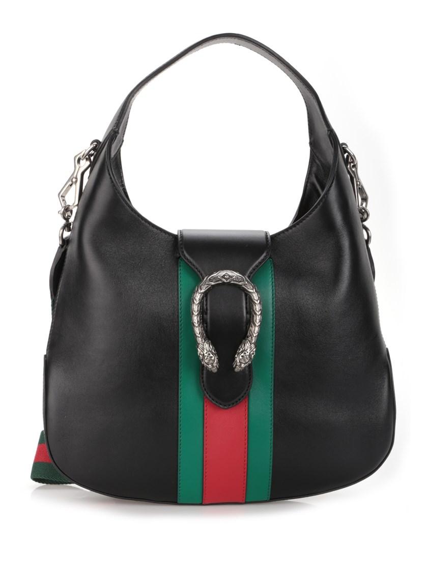c508e6dafd2493 Gucci Dionysus Medium Web-Stripe Hobo Bag, Black | ModeSens