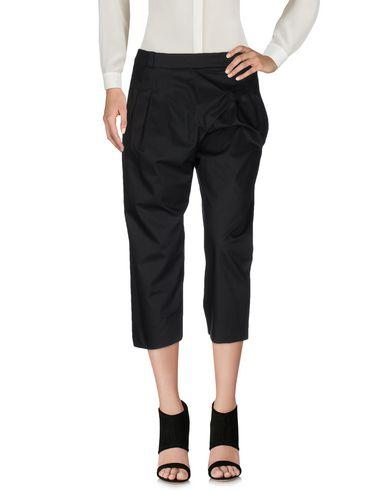 Balenciaga Cropped Pants & Culottes In Black